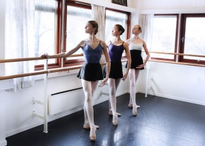 Sunday ballet class at Den Norske Ballett Skole (The National Norwegian Ballet School)