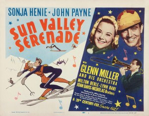 Sonja Henie starring in Sun Valley Serenade, 1941