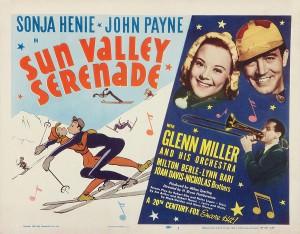 Sonja Henie starring in Sun Valley Serenade, 1941